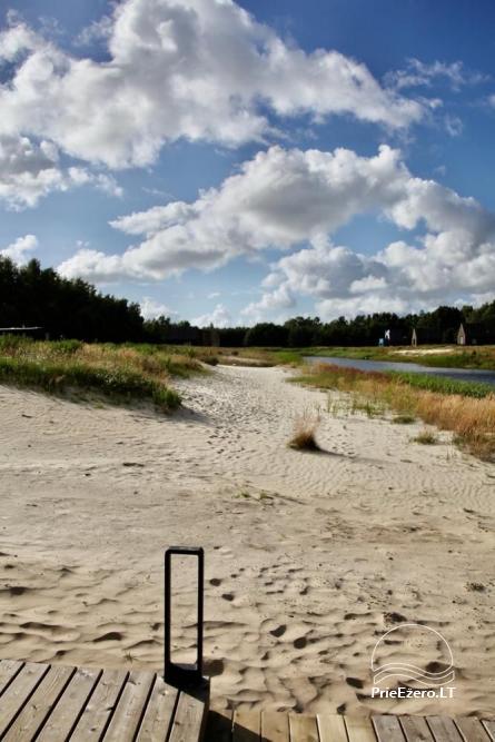 Izcila māja Kuršu lagūnas krastā ar privātu pludmali - 10