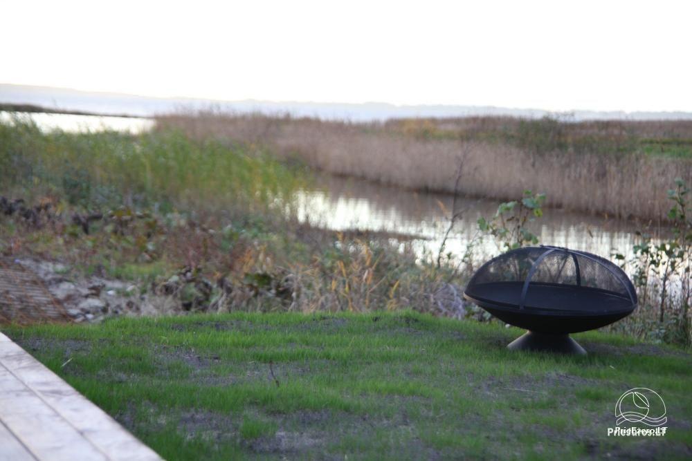 Izcila māja Kuršu lagūnas krastā ar privātu pludmali - 11