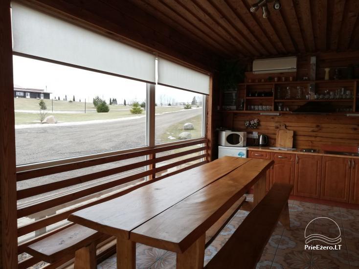 Lauku seta Vilnas rajona Ranch - Četri mājas komplekss - 11