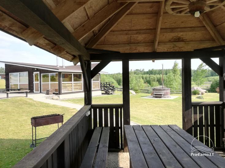 Lauku seta Vilnas rajona Ranch - Četri mājas komplekss - 6