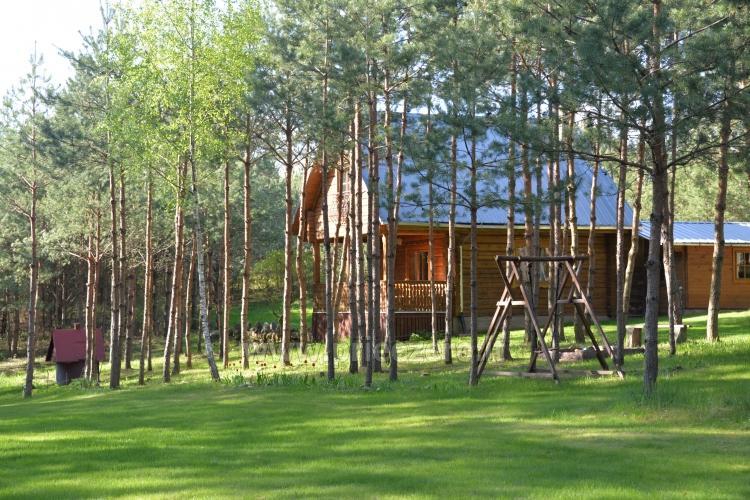 Brīvdienu mājas un pirts sētā Moletai rajonā pie ezera Geliai Žemuogynė - 10