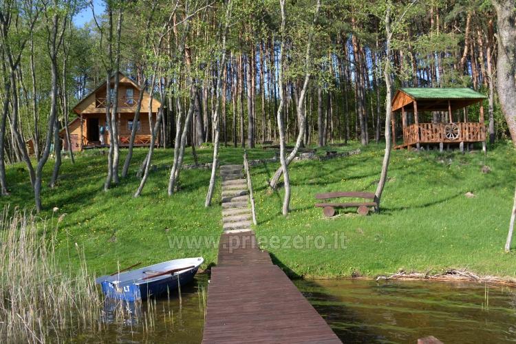 Brīvdienu mājas un pirts sētā Moletai rajonā pie ezera Geliai Žemuogynė - 26