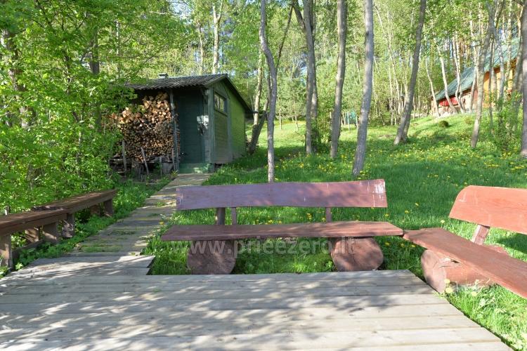 Brīvdienu mājas un pirts sētā Moletai rajonā pie ezera Geliai Žemuogynė - 27