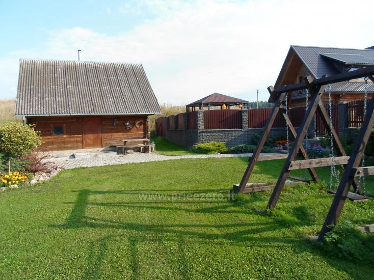 Lauku mājas Romo sodyba uz akmens ezera - 29