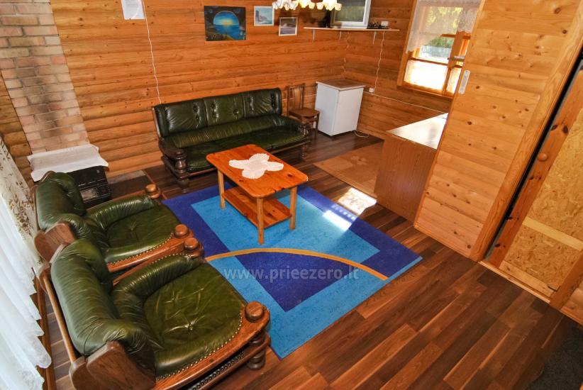 Lauku māja-villa Silvestras muiža: brīvdienu mājiņas, pirts. Kluss un aktīva brīvdienas - 15