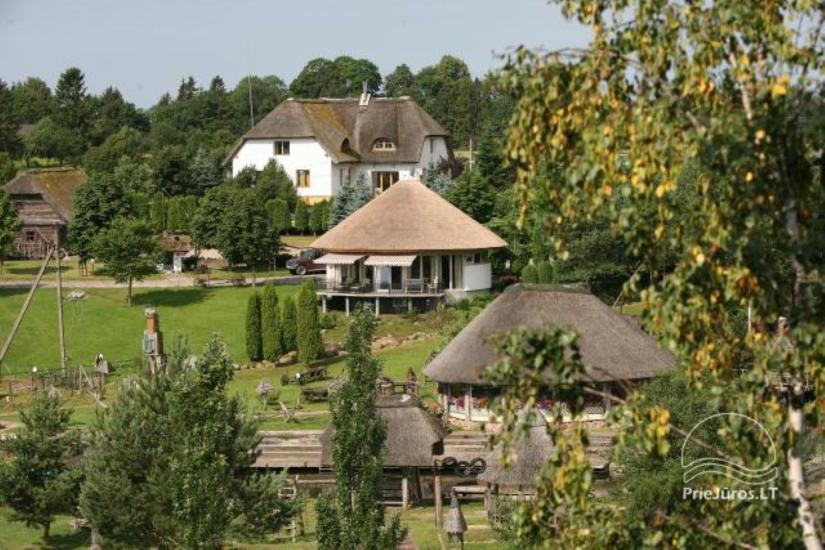 Lauku māja Kretingas rajone Vienkiemis. Viesnīca - Kavine - Pirtis - 1