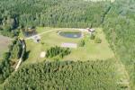 Lauku sēta Zinenai Radvilišķu rajonā starp pilsētām Šauļiem un Panevēžas - 2