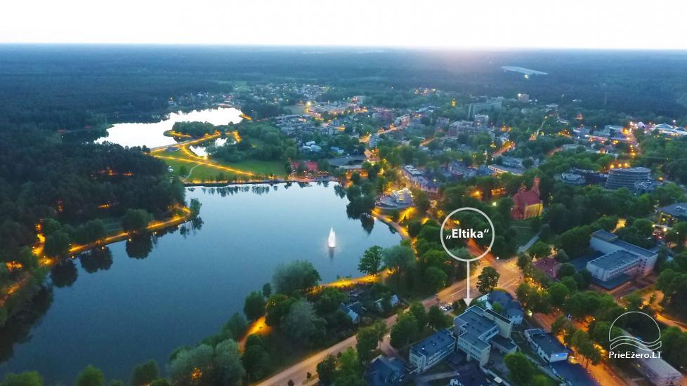 Istabas un dzīvokļi Druskininkos ELTIKA 30 no ezera Druskonis - 2
