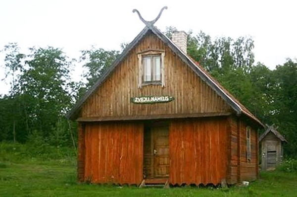 Sēta pie dziļākais ezers Lietuvā Jono sodyba - 3