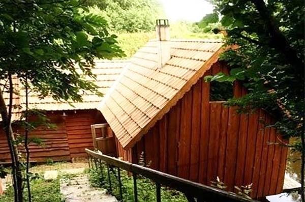 Sēta pie dziļākais ezers Lietuvā Jono sodyba - 9
