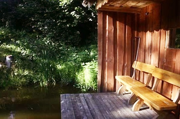 Sēta pie dziļākais ezers Lietuvā Jono sodyba - 10