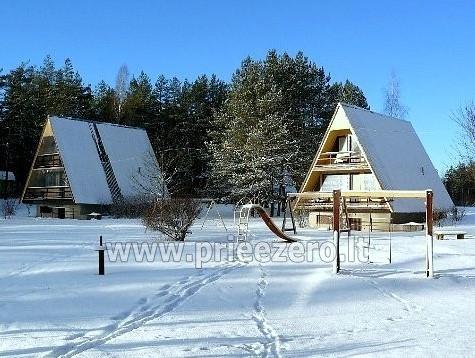 Atpūtas centrs Moletai pie ezera Bebrusai Rūta - 3