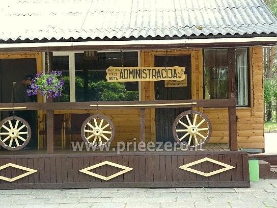 Atpūtas centrs Moletai pie ezera Bebrusai Rūta - 19