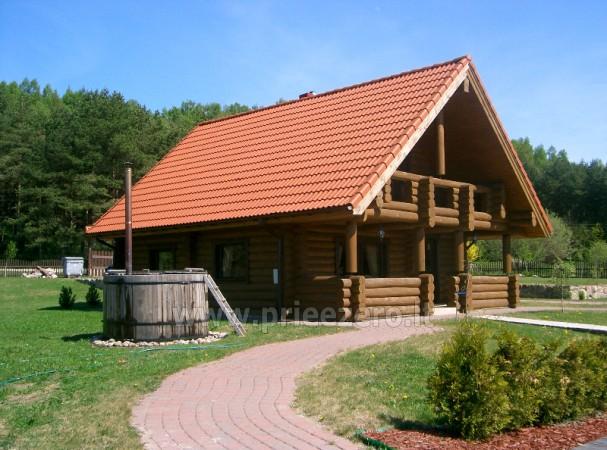 Baubliai lauku māja skaistā vietā pie upes - 7