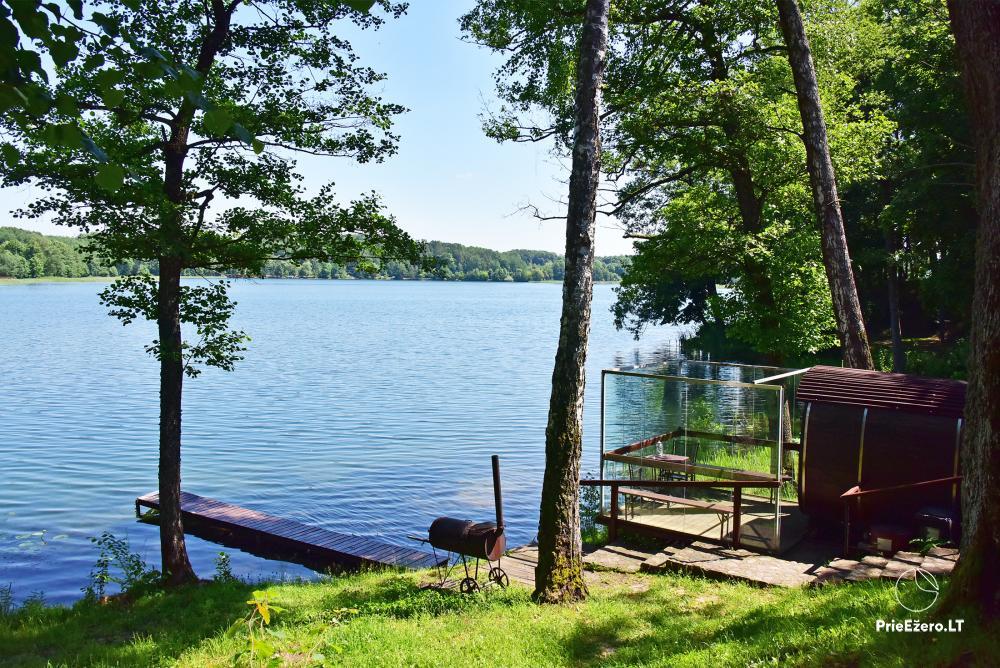 Kempings pie ezera Galve - 26