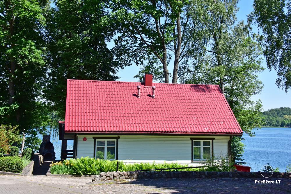 Kempings pie ezera Galve - 45