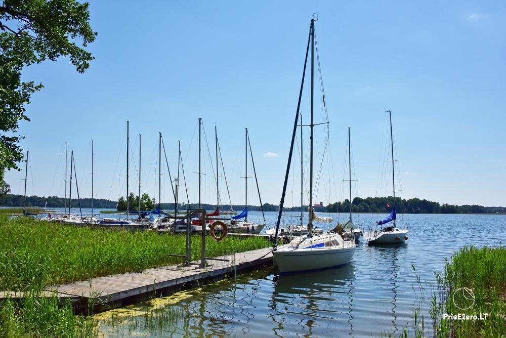 Kempings pie ezera Galve - 54