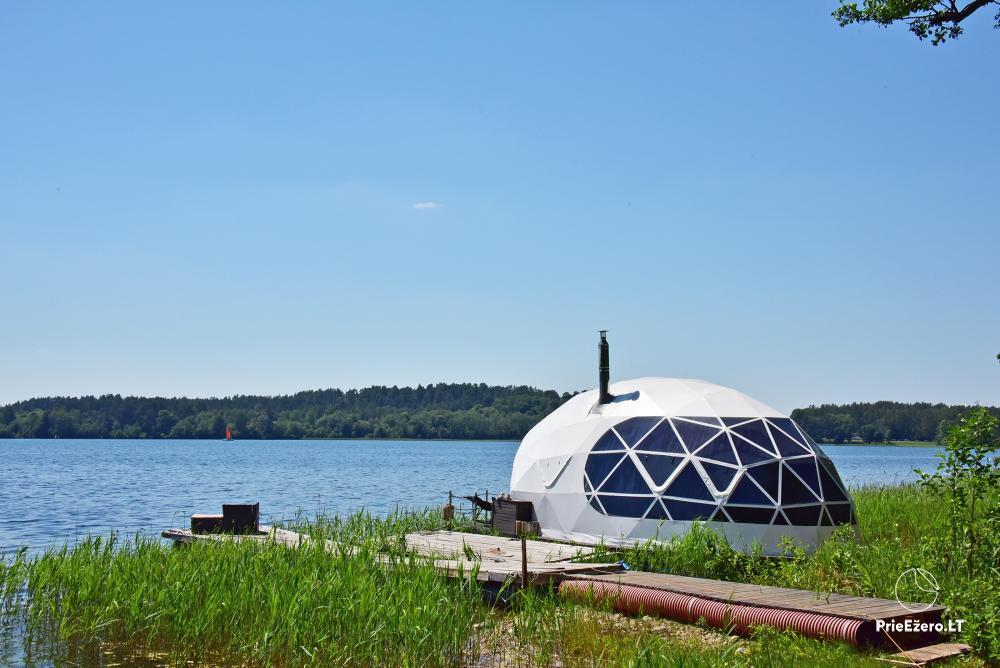 Kempings pie ezera Galve - 53