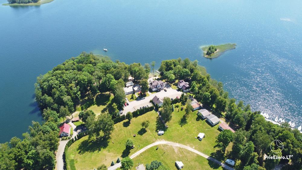 Kempings pie ezera Galve - 55