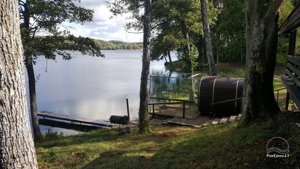 Kempings pie ezera Galve - 49