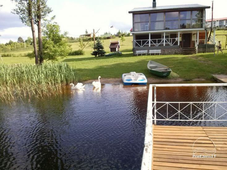Viesu nams ezera krastā starp Vilņu un Kauņu dažādiem pasākumiem un svinībām - 33