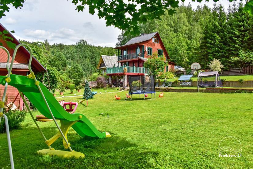 Lauku mājas Mazā Šveice Ignalina rajons - 4