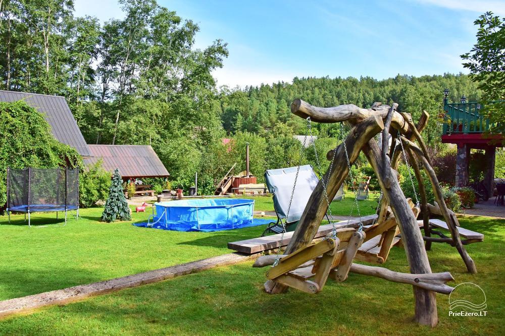 Lauku mājas Mazā Šveice Ignalina rajons - 24