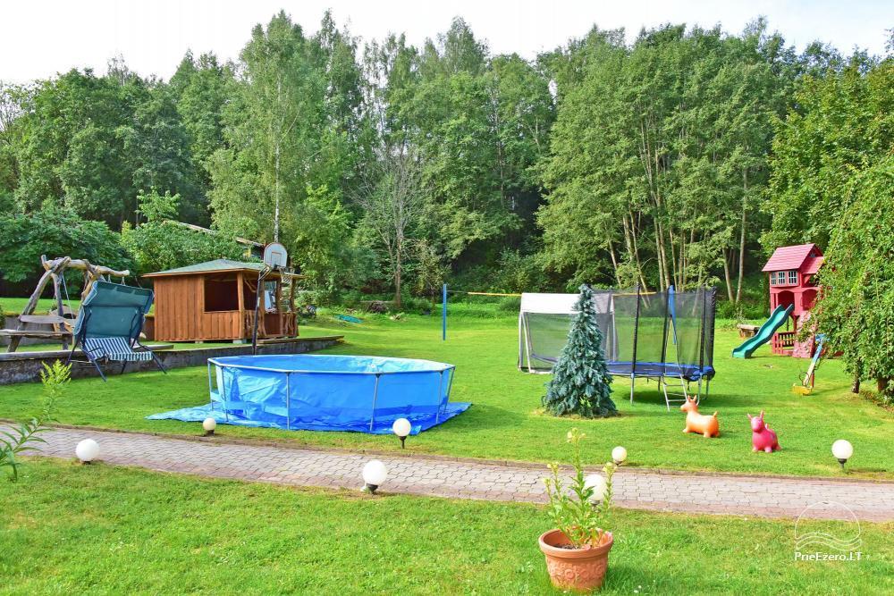 Lauku mājas Mazā Šveice Ignalina rajons - 12