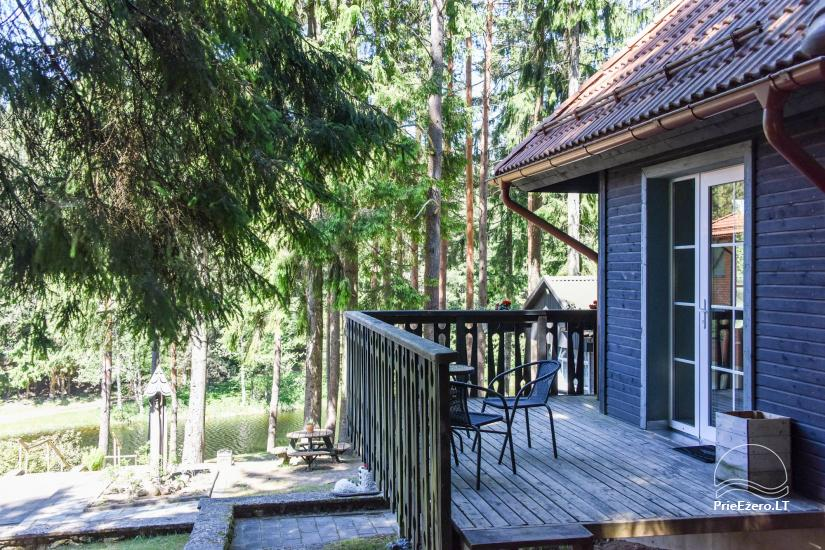 Brvdienu majas, apartamenti, pirts pie ezera Plateliai Lauku setāSaulės slėnis - 21