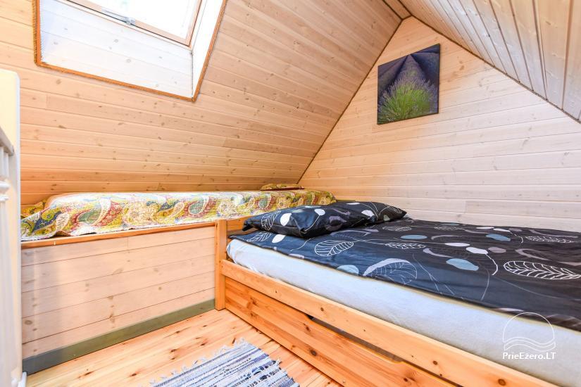 Brvdienu majas, apartamenti, pirts pie ezera Plateliai Lauku setāSaulės slėnis - 29