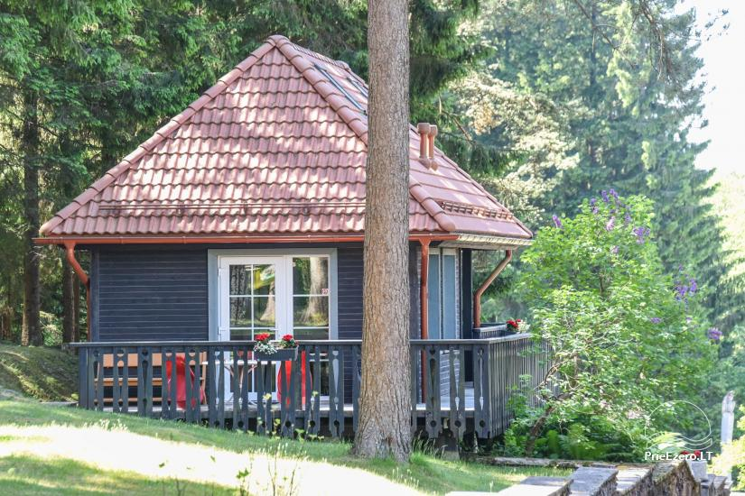 Brvdienu majas, apartamenti, pirts pie ezera Plateliai Lauku setāSaulės slėnis - 32