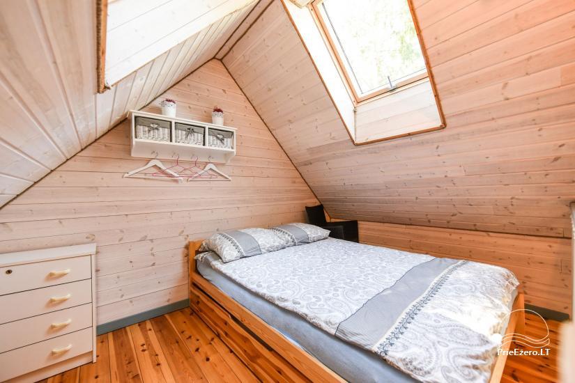 Brvdienu majas, apartamenti, pirts pie ezera Plateliai Lauku setāSaulės slėnis - 40