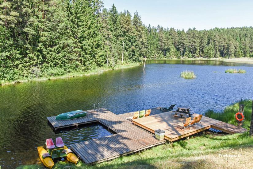 Brvdienu majas, apartamenti, pirts pie ezera Plateliai Lauku setāSaulės slėnis - 60
