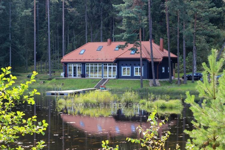 Brvdienu majas, apartamenti, pirts pie ezera Plateliai Lauku setāSaulės slėnis - 1