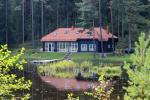 Brvdienu majas, apartamenti, pirts pie ezera Plateliai Lauku setāSaulės slėnis