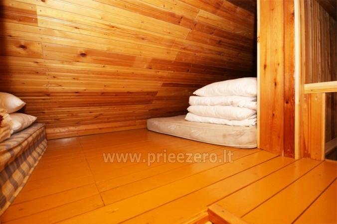 Brvdienu majas, apartamenti, pirts pie ezera Plateliai Lauku setāSaulės slėnis - 45