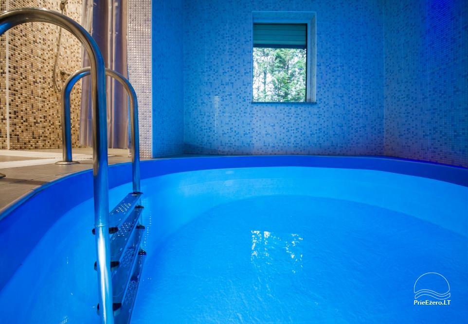 Lauku sēta ar saunu, baseinu, banketu zāle - 27