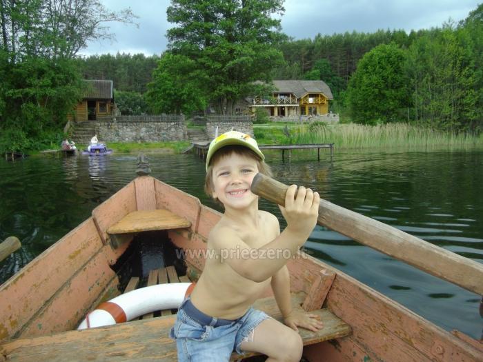 Lauku maja Akmendvaris Trakai rajona pie ezera Gilusis - 7