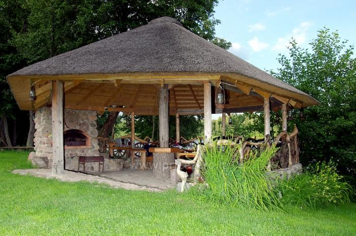 Lauku maja Akmendvaris Trakai rajona pie ezera Gilusis - 8