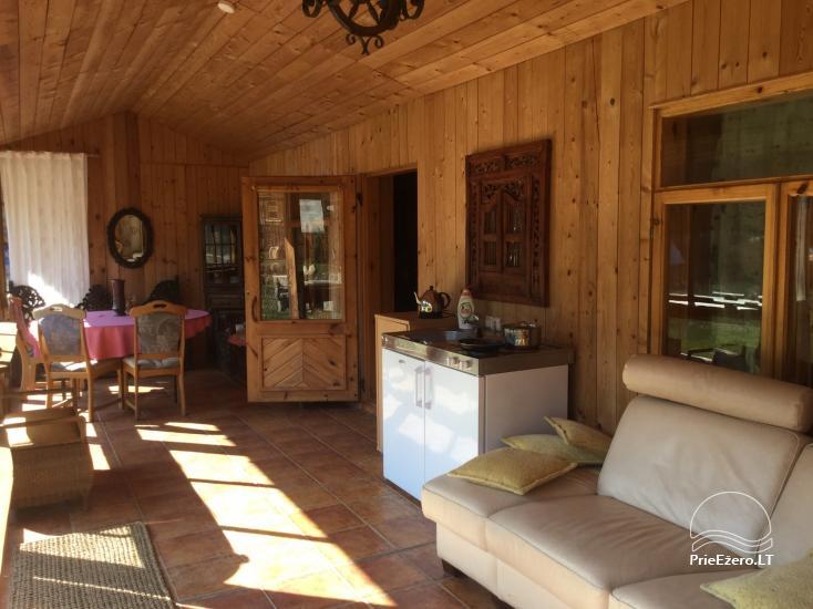 Lauku maja Akmendvaris Trakai rajona pie ezera Gilusis - 11