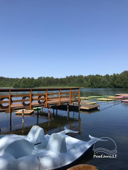 Lauku maja Akmendvaris Trakai rajona pie ezera Gilusis - 13
