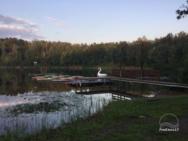 Lauku maja Akmendvaris Trakai rajona pie ezera Gilusis - 20