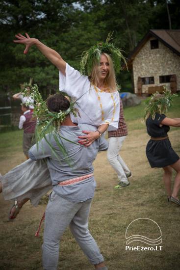 Lauku maja Akmendvaris Trakai rajona pie ezera Gilusis - 12