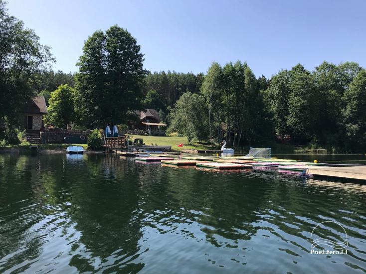 Lauku maja Akmendvaris Trakai rajona pie ezera Gilusis - 4