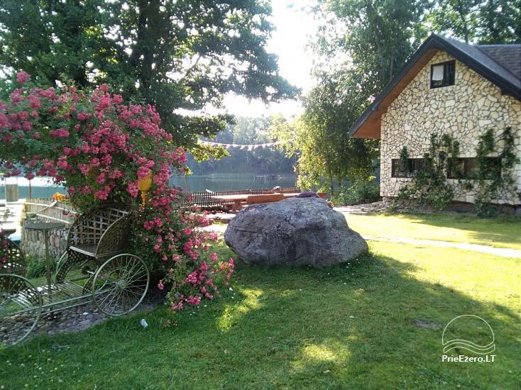 Lauku maja Akmendvaris Trakai rajona pie ezera Gilusis - 21