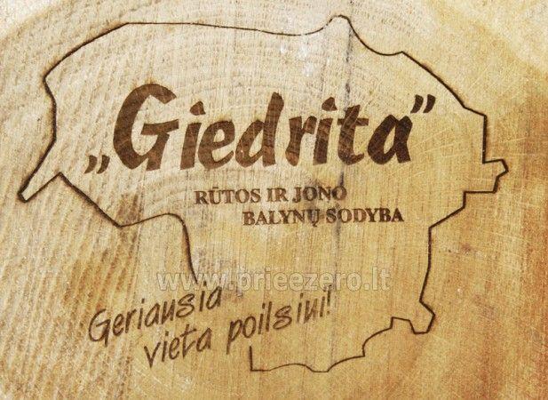 Lauku tūrisms ir Moletai rajonā Giedrita - 2