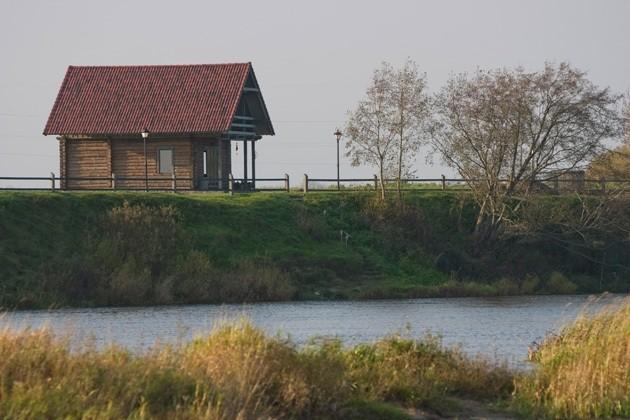 Viesu nami, Brīvdienu mājiņas un kempings Ventpils novada pie Ventas upes Ventaskrasti - 23