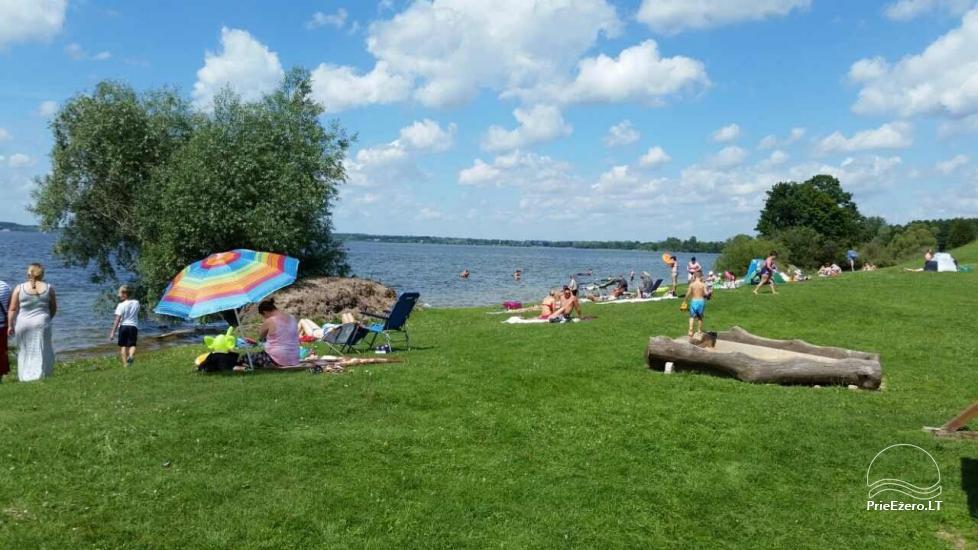Kempings Lietuva pie ezera Vistytis Pusele - 7