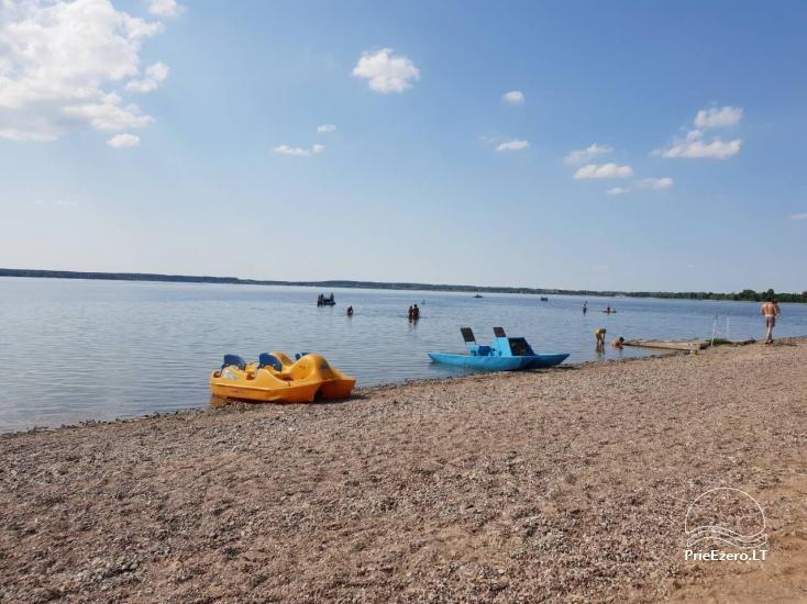 Kempings Lietuva pie ezera Vistytis Pusele - 8