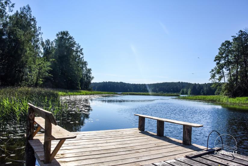 Sēta ar Ignalinos zonā, pie ezera Gaidelių sodyba - 4